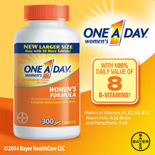 One a Day MUJER Multivitaminas 300 Comprimidos COMPLETO Vitamina Bayer hueso