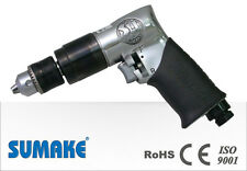"""SUMAKE 3/8"""" AIR DRILL TRADE TOOLS JAPAN PNEUMATIC REVERSIBLE CE APPROVED SPECIAL"""