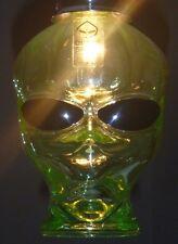 SETI UFO OUTER SPACE VODKA ALIEN BOTTLE EMPTY HANGING CEILING LIGHT FIXTURE 120V