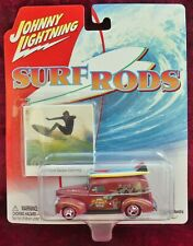 JOHNNY LIGHTNING  SURF RODS 1940 FORD SEDAN DELIVERY WITH PICTURE CARD (2003)