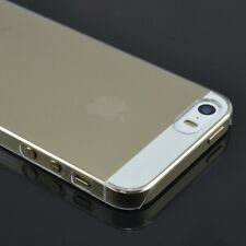 For iPhone 5S 5 Crystal  Clear Transparent Hard plastic Case Cover 0.5mm Thin