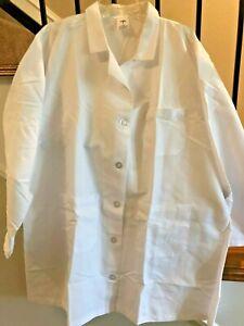 "Women's Plus size: 22 poly/cotton length 36"" Medline lab coats for 12.00"