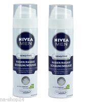 (18,73€/1L) 2x 200 ml Nivea Men Sensitive Rasierschaum anti Hautirritation 0%Alc