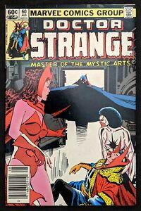 Doctor Strange #60 Newsstand Scarlet Witch/Captain Marvel/Dracula/Darkhold 1983