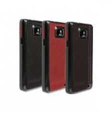 Krusell Samsung Galaxy SII Phone Case Cover Hard With Leather Back S2