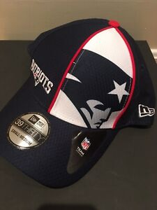 New England Patriots 39Thirty Fitted Hat. Size S/M
