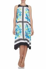 Cece by Cynthia Steffe NEW Tile Blooms Halter Style Shift Dress Szie 10 NWT