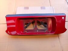 TOYOTA CELICA ST205 GT4 94-99 2.0 3SGTE IMPORT JDM NUMBER PLATE SURROUND RED