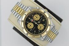 Tag Heuer 565.306 CE1120 GOLD 2000 Professional Watch Mens Chronograph Black