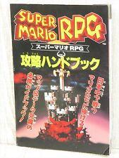 SUPER MRIO RPG Strategy Handbook Guide SFC Book Ltd