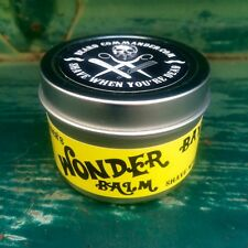 NEW! Beard Commander WONDER BALM  Bay Rum Scent Conditioner Barber NOT AN OIL!