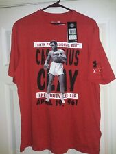 DS- Under Armour Cassius Clay Muhammad Ali Boxing G.O.A.T TKO T-Shirt L Knockout
