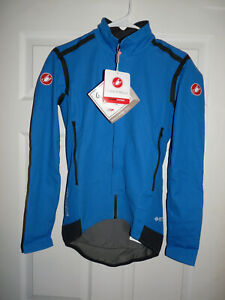 New Castelli Mens Perfetto ROS Long Sleeve Jersey Blue Large