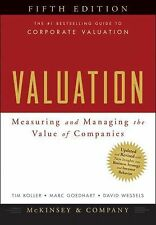 Valuation: Measuring and Managing the Value of Companies (5th Edition) by McK...