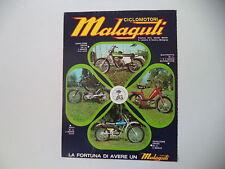 advertising Pubblicità 1974 MALAGUTI CAVALCONE CROSS 125/50/FIFTY/QUATTROTTO