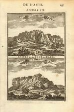 TOWER OF BABEL. Ruins from the north & south. Mesopotamia. Babylon. MALLET 1683