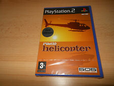 Radio Helicopter - PlayStation 2 PS2 - New factory  Sealed pal version