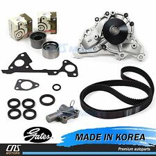 Gates JAPAN Timing Belt Kit Hydraulic Tensioner Water Pump for 03-06 Kia Sorento