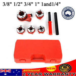 PIPE THREADER RATCHET TYPE WITH 5 DIES PIPE THREADER PLUMBING HAND TOOLS SET