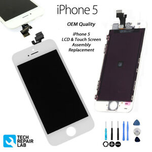 NEW Original iPhone 5 Retina LCD & Digitiser Touch Screen Assembly - WHITE