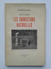 """Marcel MARIËN """" Les corrections naturelles """" E.O. avec ENVOI 1947 surréalisme"""
