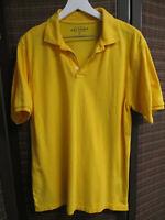 ARIZONA JEAN CO. Men's golf shirt, XL, yellow, 100% cotton, pre-owned, very good