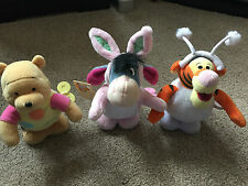 DISNEY EXCLUSIVE EEYORE BOUNCING EASTER RABBIT SNOWBALL TIGGER EASTER EGG POOH