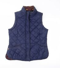 Joules Womens Blue   Quilted Waistcoat Size 12