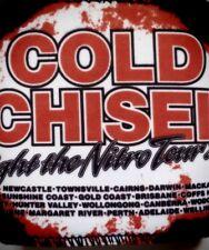 COLD CHISEL Lights of the Nitro Tour 2011 Stubbie holder