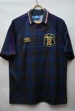 SCOTLAND  NATIONAL TEAM 1994 1996 HOME FOOTBALL SHIRT SOCCER JERSEY SIZE XL