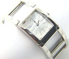 Reloj De Pulsera Calvin Klein Ck señoras del acero inoxidable moda Saphire Cristal K5922