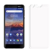 2 X Nokia 3.1 Protectores de Pantalla Para Teléfono Móvil - Brillo Funda