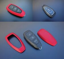 Ford Remote Power Key Free Keyless Go Cover Case Skin Shell Fob Protection Red