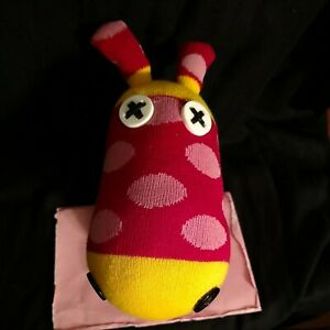 HORSE 'Time Concept' NO3NO4 Sockdoll PONY 'Button Eyes' Soft Toy sock monkey NEW