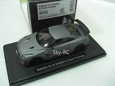 1/43 EBBRO Model 45163 Nissan Skyline GTR R35 NISMO N Attack Package Matt Gray