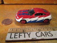 2004 RED,WHITE,DARK BLUE CHRYSLER CROSSFIRE SCALE 1/64 - LOOSE! NO BOX!