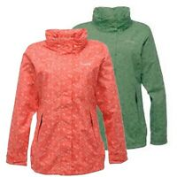 Regatta Lottie Womens Waterproof Lightweight Windproof LIned Jacket Peach 36