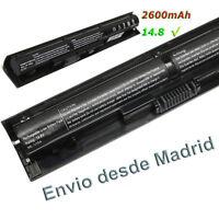 Bateria para Notebook HP VI04, HSTNN-DB6K, HSTNN-LB6J de 14.8v y 2600 Portatil