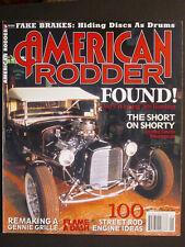 AMERICAN RODDER  Found! Dad's Winning '50s Roadster  January 2003