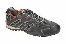 Geox Respira Snake Y Men Sneakers U4207J-C0358 Dk Grey Quick-Lacing