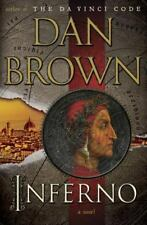 INFERNO by Dan Brown Hardcover book FREE SHIPPING (Dante's inferno mystery)
