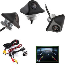 170° Reverse Backup Car Rear View Camera Night Vision Parking CCD HD 12V