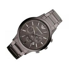 Emporio Armani AR2454 Renato Mens Watch Steel Bracelet PVP 399€