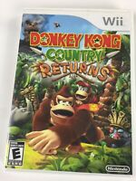 Nintendo Donkey Kong Country Returns Nintendo Wii 2010 Complete