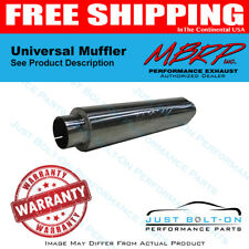 """MBRP Universal 3"""" ID Inlet/Outlet 26"""" Single Chambered Muffler AL Steel GP122106"""