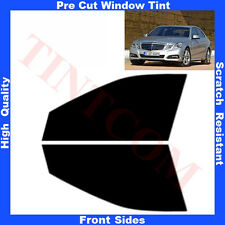Pre Cut Window Tint Mercedes E Class W212 Saloon 4D  10-15 Front Sides AnyShade