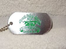 South Padre Island Bike Fest 2003 Roar By The Shore Dog Tag Medallion