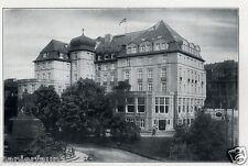 Hotel Kaiserhof Elberfeld XL Reklame von 1929 Hillengass Werbung Ad Kaiser