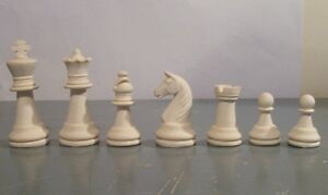 Staunton Style chess set latex moulds