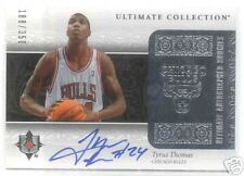 06-07 ULTIMATE COLLECTION TYRUS THOMAS ROOKIE AUTO 35